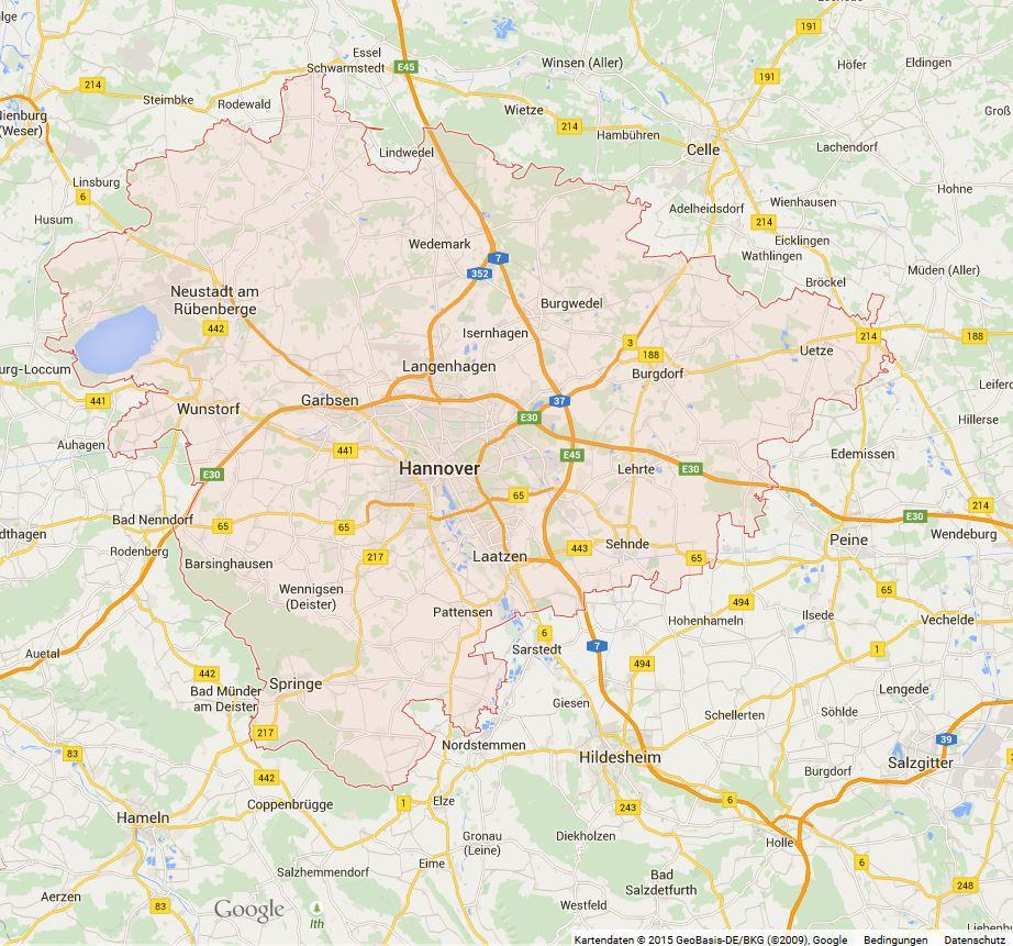 Erhebungsgebiet (Region Hannover)